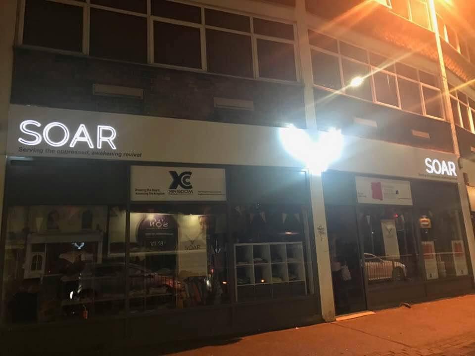 SOAR Shop at Night